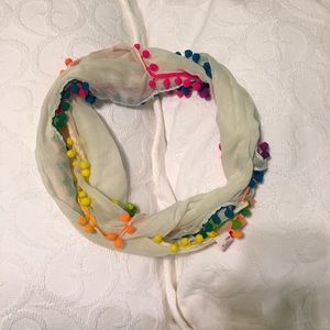 Accessories - Puffball infinity scarf
